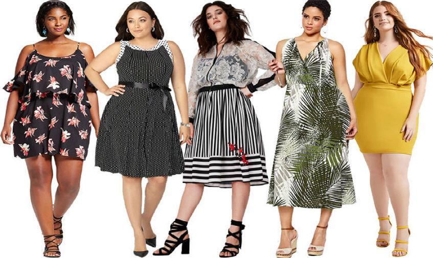 Батальные платья для полных женщин