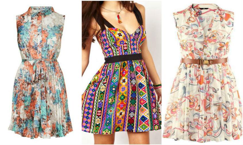 Летние женские платья на стиле