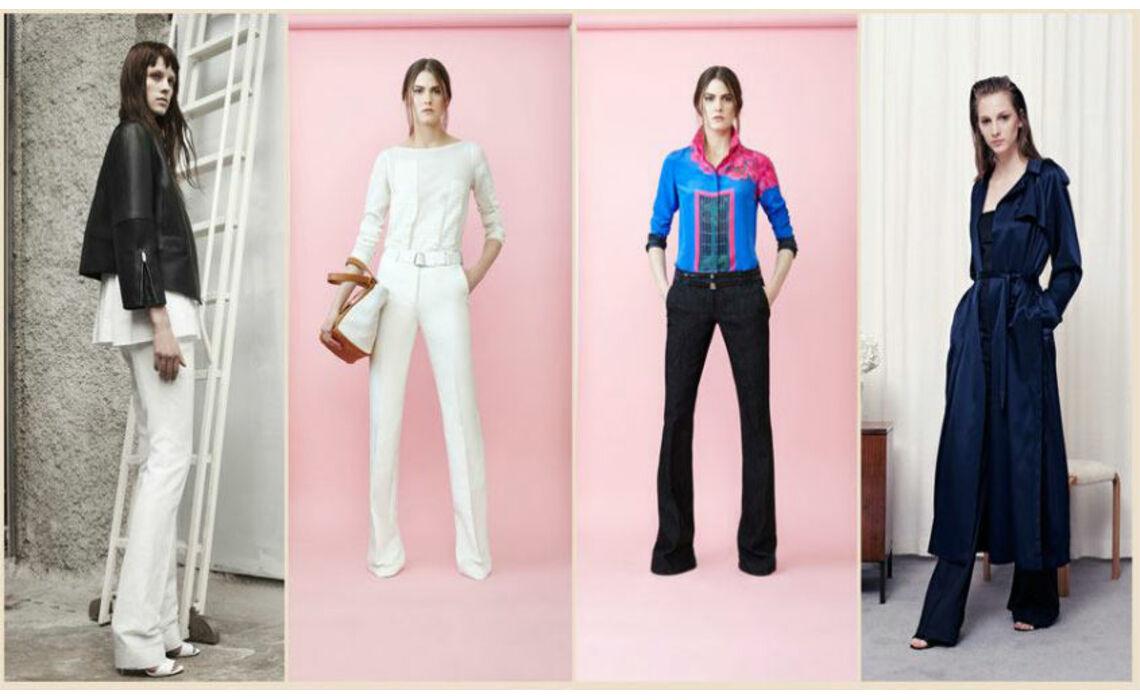 Женские брюки-клеш только для стильных!