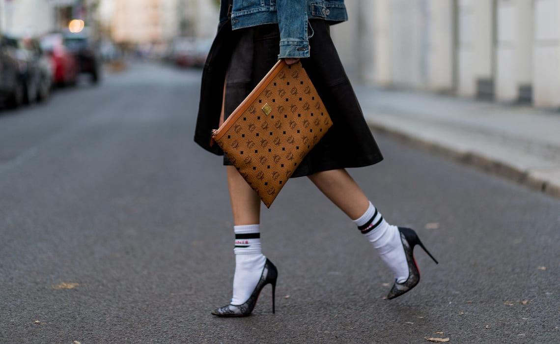 Мода на длинные носки