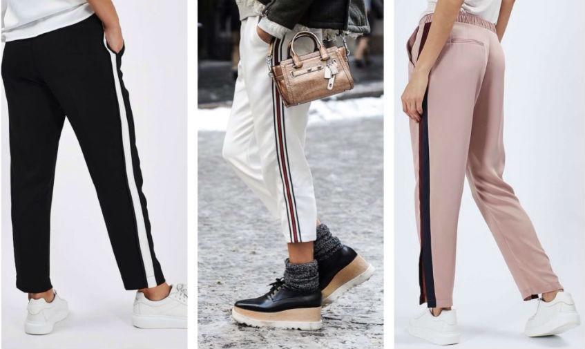 Женские брюки с лампасами. Что в моде?