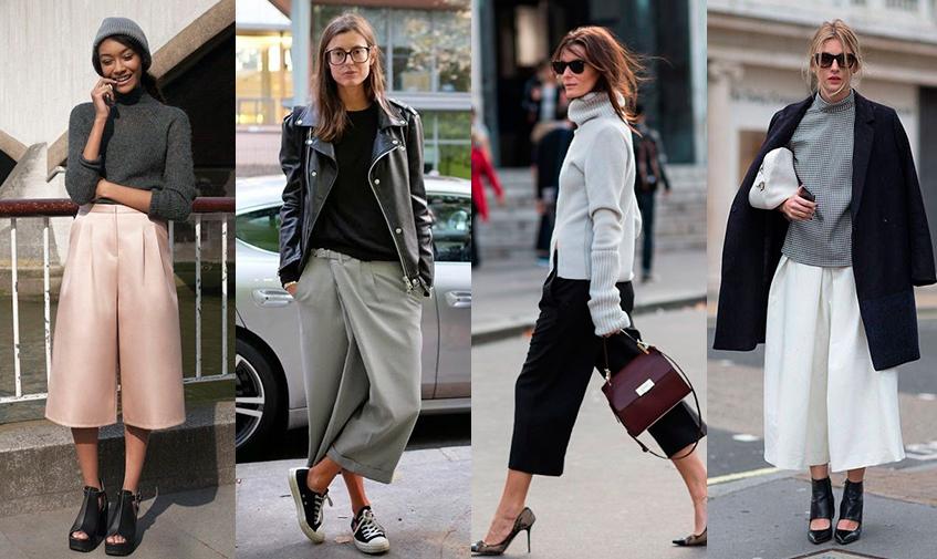 Женские брюки-кюлоты снова в моде | Namode