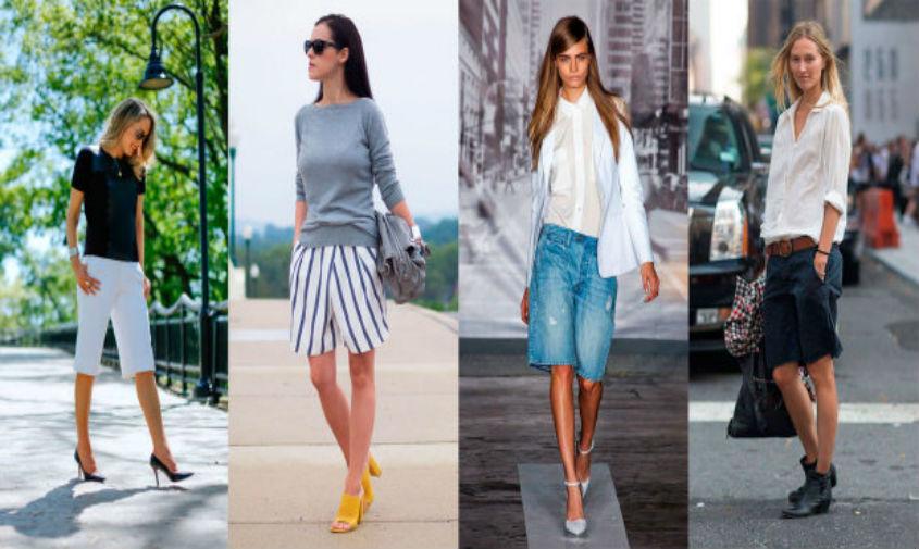 Модные летние женские шорты