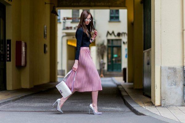 Женские плиссированные юбки