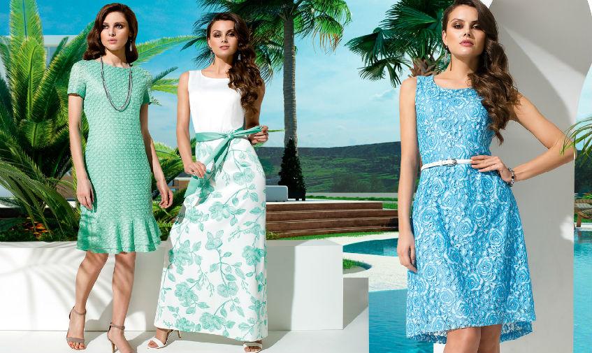 Cкромные женские платья белорусских производителей